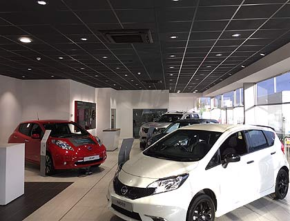 Nissan Car Showroom, Cardiff